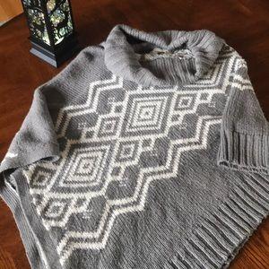 Woman's Sonoma Sweater Poncho